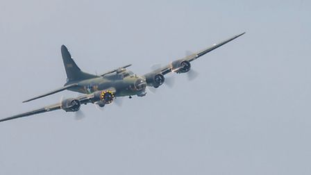 The Boeing B-17 Flying Fortress. Picture: Gerry Weatherhead