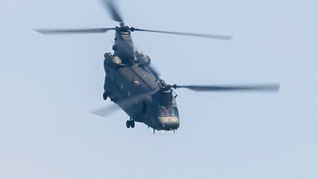 The Boeing Chinook. Picture: Gerry Weatherhead
