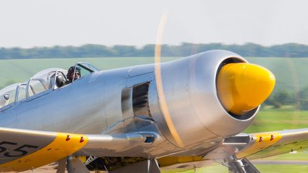 The Hawker Sea Fury. Picture: Gerry Weatherhead