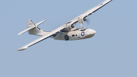 The PBY-5A Catalina. Picture: Gerry Weatherhead