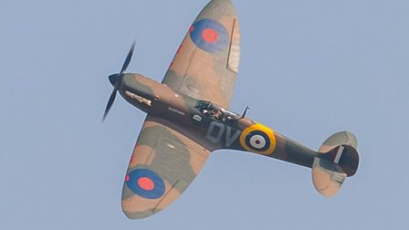 A Spitfire MK1a. Picture: Gerry Weatherhead