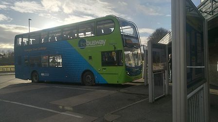 Huntingdon bus station. Picture: ARCHANT