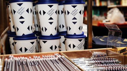 Gifts inside the new St Albans Museum + Gallery gift shop ahead of its grand opening in just over a