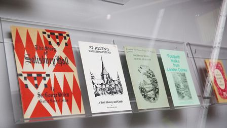 The history of printing in St Albans on display in the Weston Gallery inside the new St Albans Museu