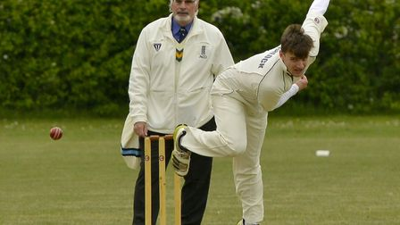 Needingworth captain Dan Sherlock helped his side to a first win of the summer.