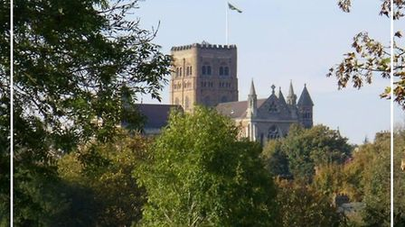 St Albans Cathedral's certificate of excellence from Trip Advisor. Picture: Trip Advisor/St Albans C