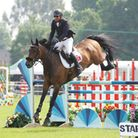 Herts County Show 2018 - Show Jumping Display.Picture: Karyn Haddon