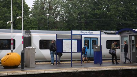 Harpenden Train Station. Picture: DANNY LOO