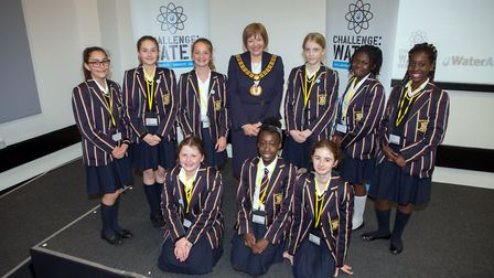 Loreto pupils at the Affinity Water 'Challenge: Water' initiative (Picture: Jane Alexander)