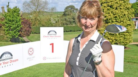 Aldwickbury Golf Club's Julia Bashford has reached the next stage of the British Masters and the Bri
