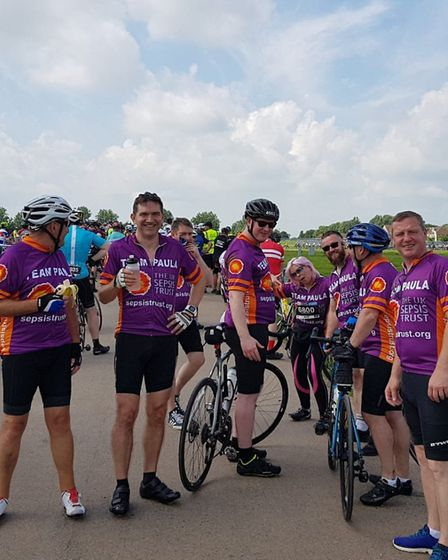 Team Paula completed The Tour of Cambridgeshire Grand Fondo Sportive Bike Race to raise money for th