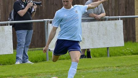 Leading scorer Jack Chandler is staying for another season at Godmanchester Rovers. Picture: DUNCAN