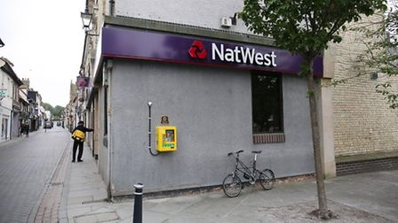 NatWest in Royston has now closed. Picture Danny Loo