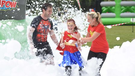 The Magpas Super Heroes event at St Ives Golf Club. Picture: ROB MORRIS
