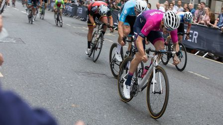 Marcel Six of Verulam Reallymoving races to the win at the Mr Porter London Nocturne. Picture: Judit
