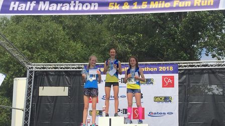 St Albans Athletics Club dominated the podium at the St Albans 5K.