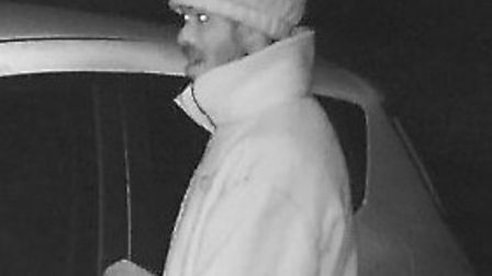 Police would like to speak to this man as part of ongoing enquires into thefts from motor vehicles i