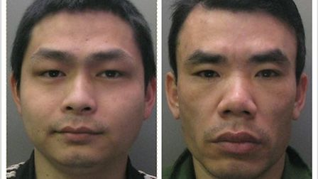 L-R: Phu Nguyen and Ken Nguyen. Picture: CAMBS POLICE