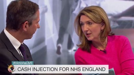 Jonathan Djanogly appeared on the Victoria Derbyshire show. Picture: BBC