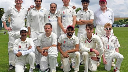 The Huntingdon & District 2nds side who were beaten by Warboys in Hunts League Division Three. They