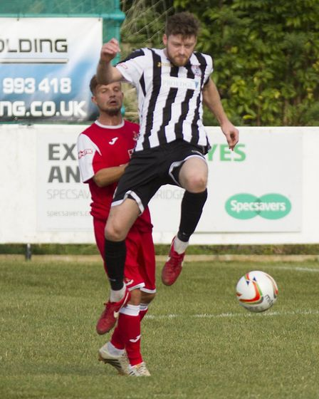 Captain Charlie De'Ath has been offered the chance to stay at St Ives Town. Picture: LOUISE THOMPSON