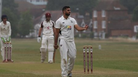 Radlett's Kabir Toor produced another 70-plus knock as they tied with West Herts. Picture: Danny Loo