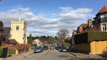 Harpenden's Rothamsted Avenue isn't short on homes worth £1m or more