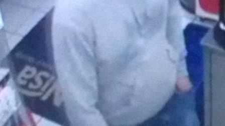 Do you know this man? PICTURE: CAMBRIDGESHIRE POLICE