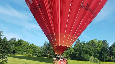A balloon similar to the one involved in the incident. File photo. Picture: Lesley Dean.