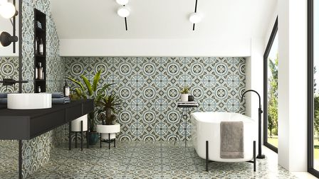 Inspired by the encaustic tiles of Victorian times the new Centro Viena and Centro Budapest ranges f