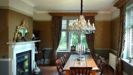 Emma Page's dining room