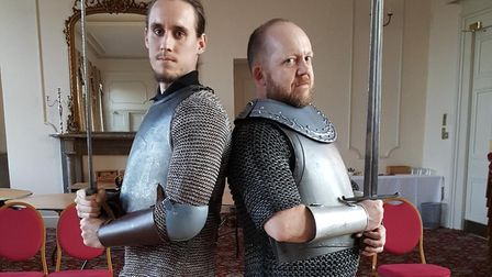 Do you have space to run a Richard III competition next week (with 2 weeks to go), to give away a co