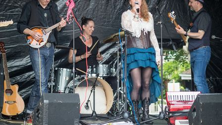 One of the musical acts at the Harpenden Carnival last Saturday. Picture: Steve Collins.