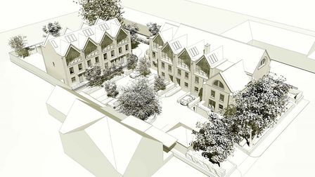 How Oak Tree Gardens will look on completion