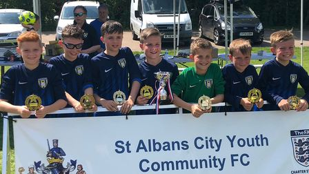 Harvesters Leopards won the St Albans City Youth U11 six-a-side tournament.