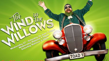 Brilliant Theatre Arts' production of The Wind in the Willows can be seen at The Alban Arena in St A
