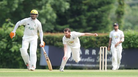 Anthony Hill got the only wicket for Radlett against Totteridge Millhillians.Picture: Karyn Hadd