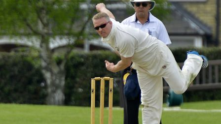 Martin Burton was among the wickets in a third successive Huntingdon & District victory.