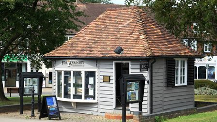 Fine & Country's Brookmans Park branch is arguably the cutest estate agent office ever