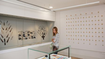 A look inside the new St Albans Museum + Gallery which is now open to the public. Picture: CALLUM AL