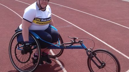 Sophie Etheridge was successful at the East Region Disability Championships.