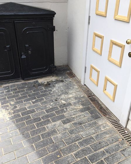The state of the pavements around the new St Albans Museum + Gallery.