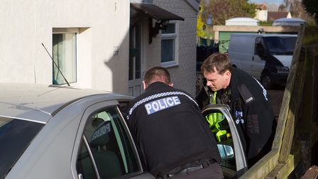 Operation Edison, Cambridgeshire Police conduct the last of 4 warrants searching for drugs., Ely,