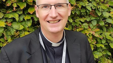 The associate priest at St Peter's Church, in London Colney, Philip Green, of Potters Bar, has been