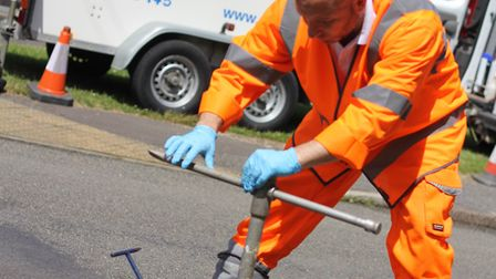 Anglian Water says it is well placed despite fears over the future of the nation's water supply. Pic