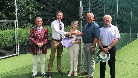 Harpenden Cricket Club official opened their new nets at their Common home.
