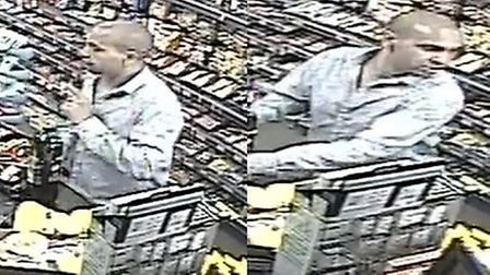 Herts police have released this CCTV image. Picture: Herts police