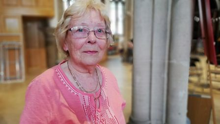 Pam Grainger, a resident at Elm Tree Court in Huntingdon. Picture: ARCHANT