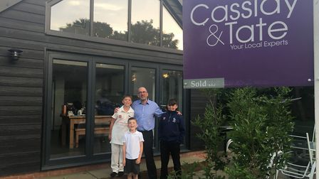 The Scott family are the first to see half the seller's fee they paid to estate agents Cassidy and T