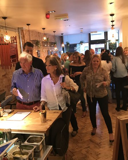 The charity social night held by The Pilates Rooms in St Albans. (Picture: Stacey Turner)